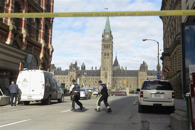 Terrorismo: Capital do Canadá em estado de sítio