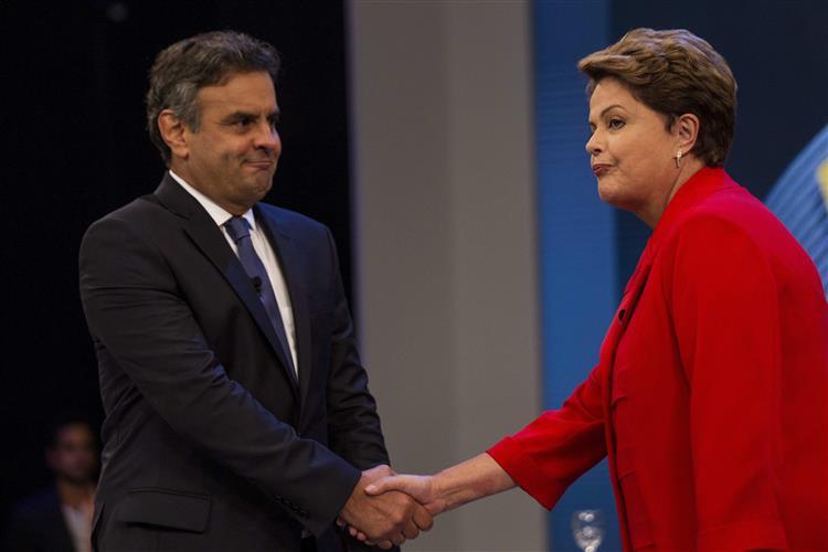 Corrupção domina último frente-a-frente entre Dilma e Aécio