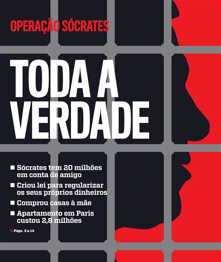 Edição especial Operação Sócrates. Toda a verdade
