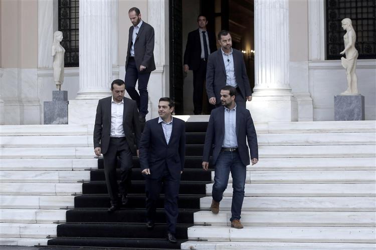 Grécia sem tempo a perder