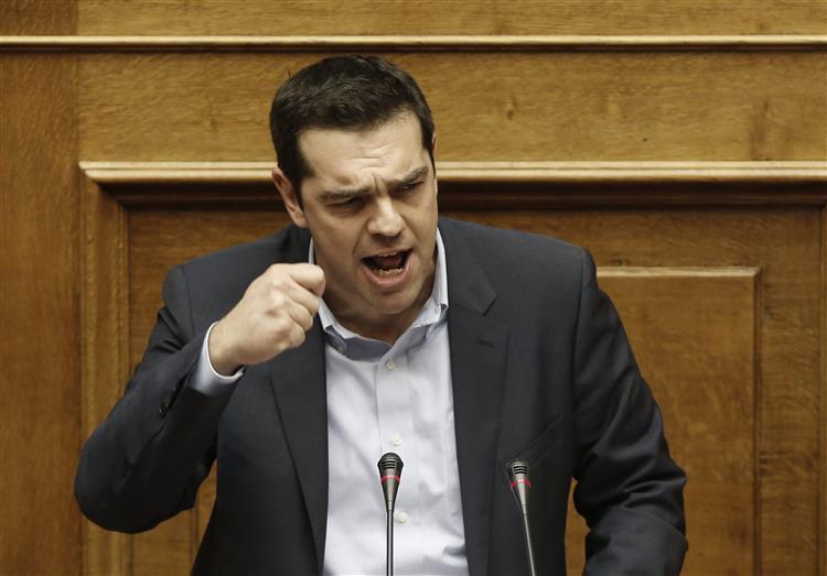 Tsipras acusa Portugal e Espanha de formarem 'eixo contra Atenas'