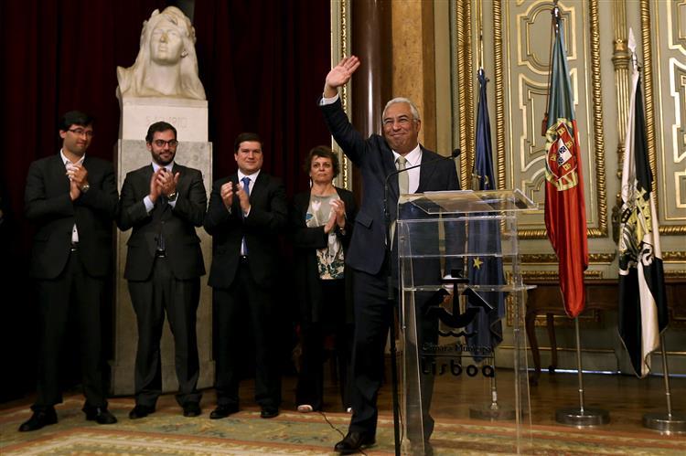 António Costa sai da CML. 'Deixo a casa arrumada'