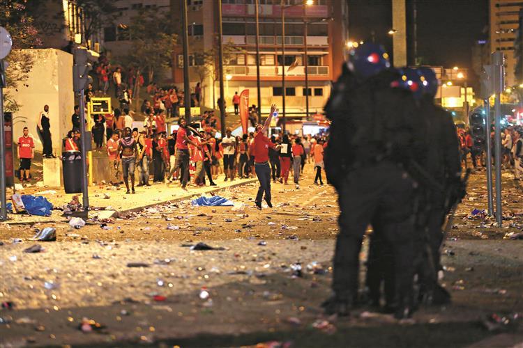 Claque implicada no confronto do Marquês