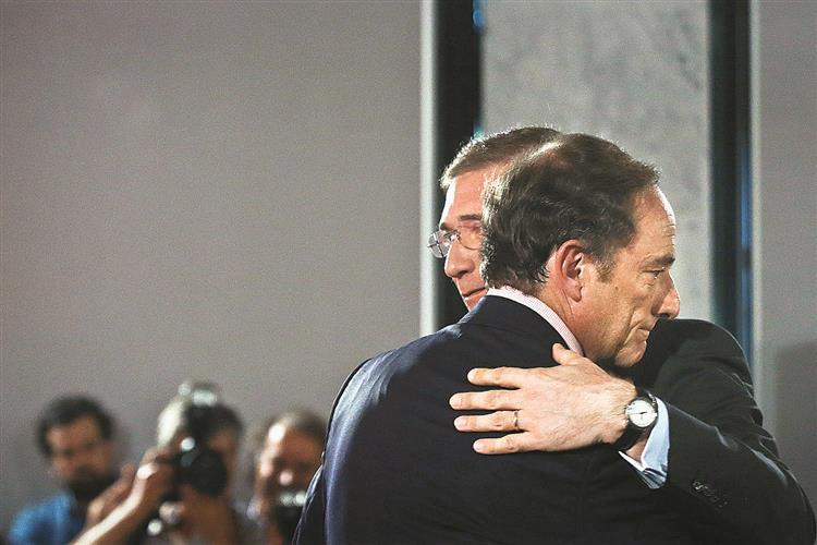 Segurança social dividiu coligação