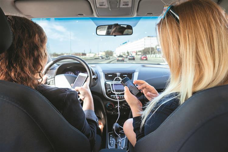 Quando o telemóvel ao volante é uma arma mortal